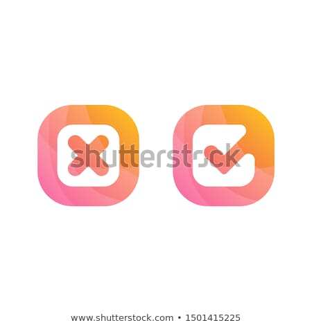Ready No Yes Check Mark Concept Stock photo © ivelin