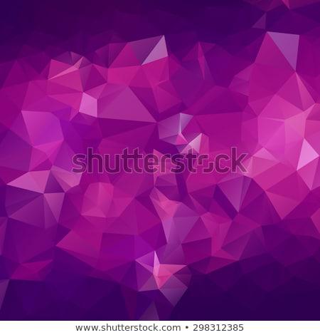 violet · mozaiek · abstract · horizontaal · vector · exemplaar · ruimte - stockfoto © marysan