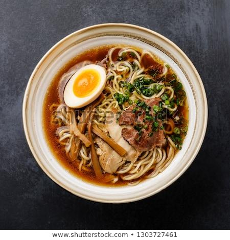 beef ramen noodles stock photo © keko64