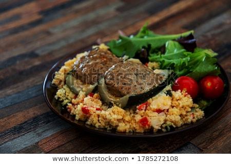 semolina and vegetable Stock photo © M-studio