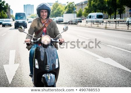 туристических Берлин верховая езда плотный движения Сток-фото © Kzenon