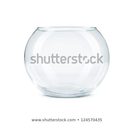 empty fish bowl stock photo © coprid