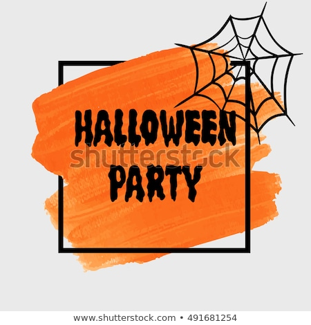 grunge style halloween party background Stock photo © SArts