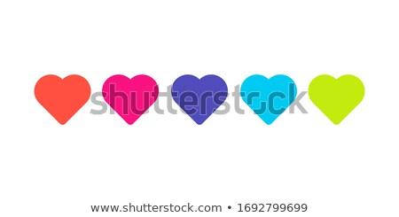 Szív kardiogram pulzáló ritmus grafikon absztrakt Stock fotó © alexaldo