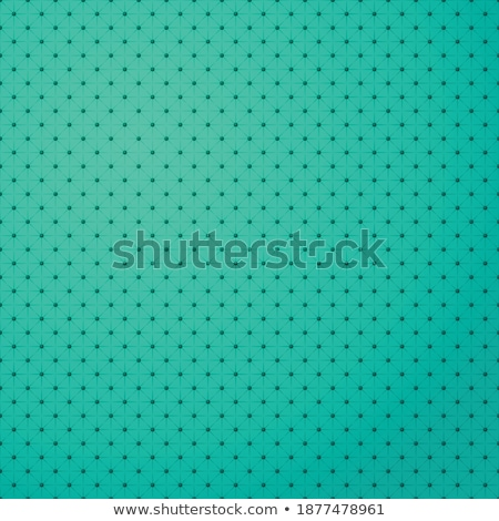 green metal surface background with repeative diamond pattern stock photo © stevanovicigor