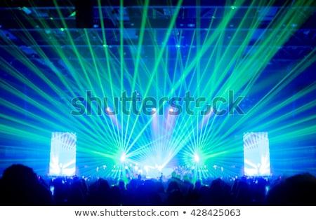 Blur música concierto multitud resumen personas Foto stock © stevanovicigor