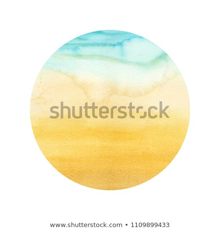 round composition with colorful beach elements  Stock photo © curiosity