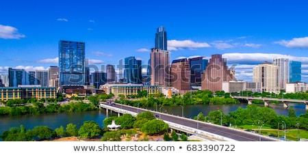 Zdjęcia stock: Austin · Texas · panoramiczny · panoramę · nice · wieczór