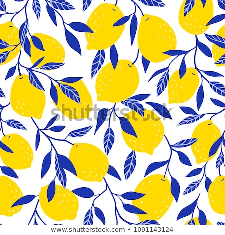 Citroen limonade oneindig textuur vruchten Stockfoto © lucia_fox