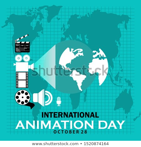 28 october  International Animation Day Stock photo © Olena