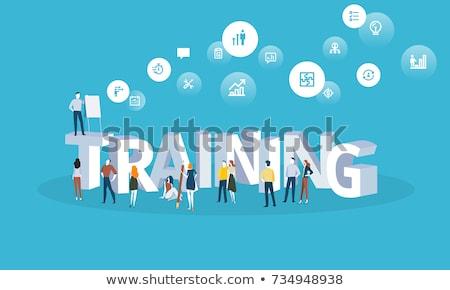 business cloud training stock photo © lightsource