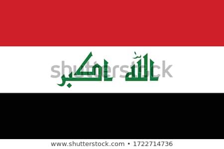 Zászló fehér terv felirat utazás fekete Stock fotó © butenkow