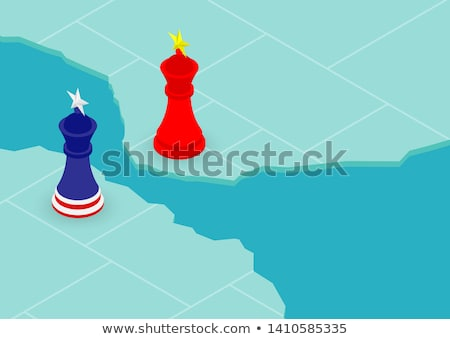 China United States Trade War Strategy Stock photo © Lightsource