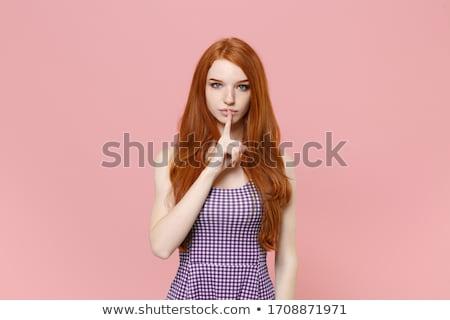 schoonheid · poseren · verbazingwekkend · sieraden · vrouw - stockfoto © neonshot