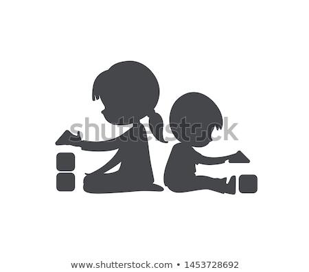 Kindergarten · Vorschule · Kunst · spielen · lernen · Schule - stock foto © pikepicture