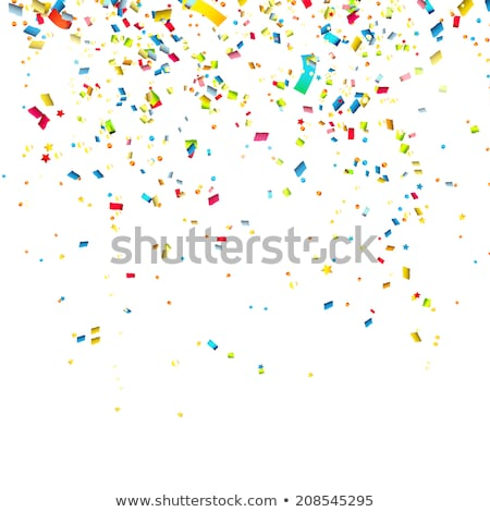 Swirled Party Streamers Stock photo © kostins
