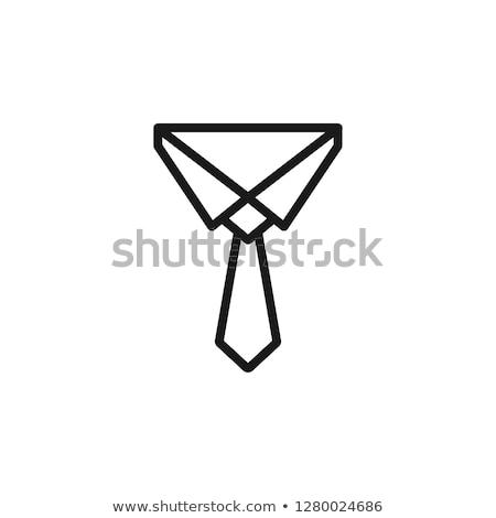 collar icon stock photo © smoki