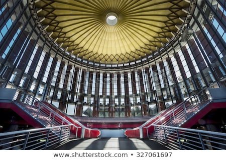 Treinstation Madrid Spanje interieur treinstation Stockfoto © artfotodima