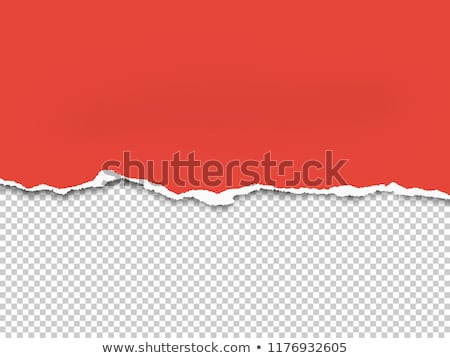 torn paper frame transparent background Stock photo © romvo