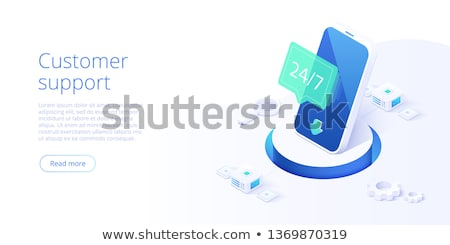 24 7 service web banner concept. Stock photo © RAStudio