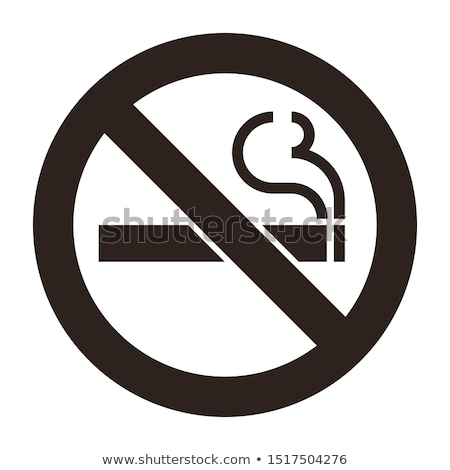 No smoking sign. designated areas. Vector illustration isolated  Stock photo © kyryloff