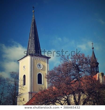 Ghost church, Czech republic Stock photo © emiddelkoop