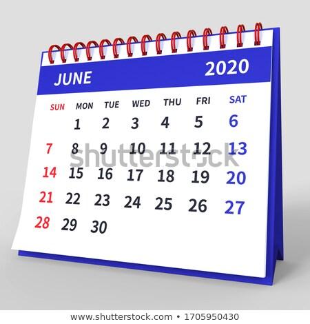 calendario · programa · calendario · tiro - foto stock © iserg