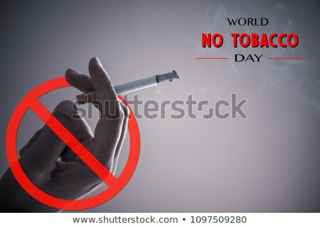 world no tobacco day no smoking crossed cigarette stock photo © robuart