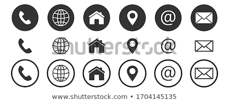 Black & White web icons Stock photo © cidepix