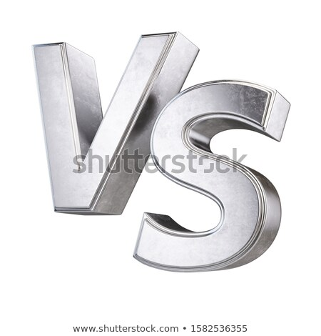 Yellow outlined font letter S 3D Stock photo © djmilic