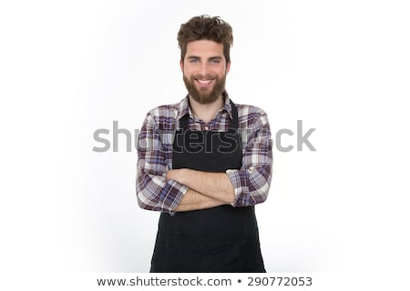 Male carpenter standing with arms crossed in workshop Stock photo © wavebreak_media