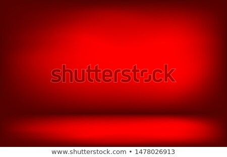 Vector red background with cherry Stock photo © Elmiko