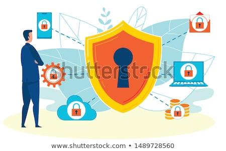 Financial and IT data software vector concept metaphors Stock photo © RAStudio