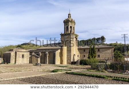 Church of the Crucifix, Puente la Reina, Spain Stock photo © borisb17