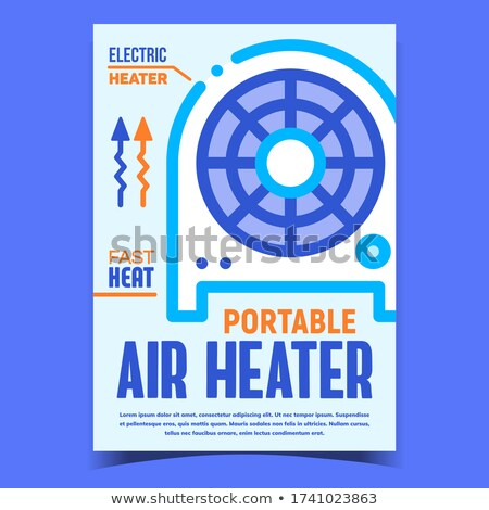 空気 ポータブル 加熱 バナー ストックフォト © pikepicture