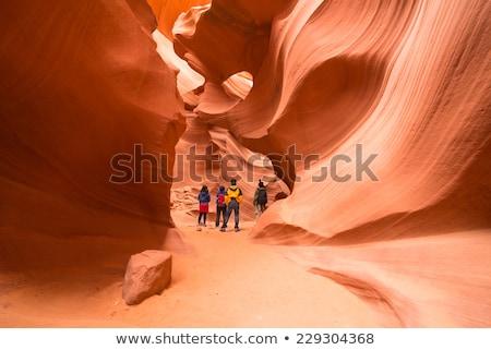 снизить каньон США штопор парка Сток-фото © vichie81
