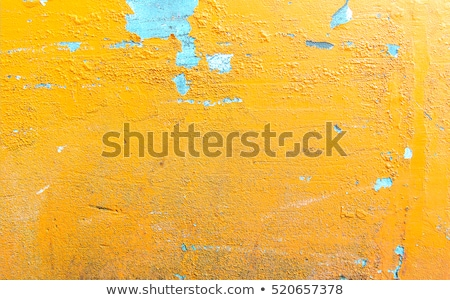 Cracked yellow wall texture Stock photo © Zela