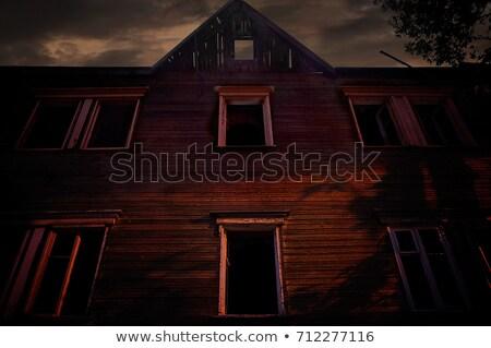 Old left house Stock photo © fotografci