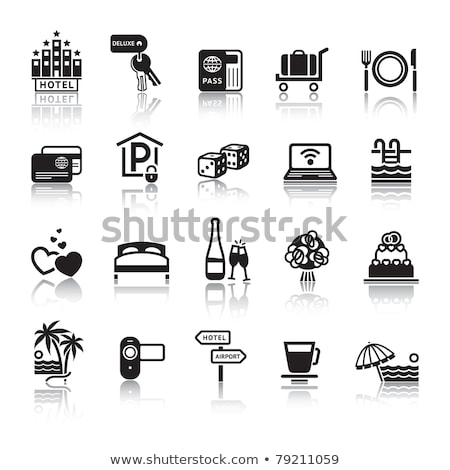 Signs. Tourism. Travel. Sports. Third set. Stock photo © Ecelop