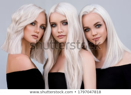 Stock fotó: Three Beautiful Girl