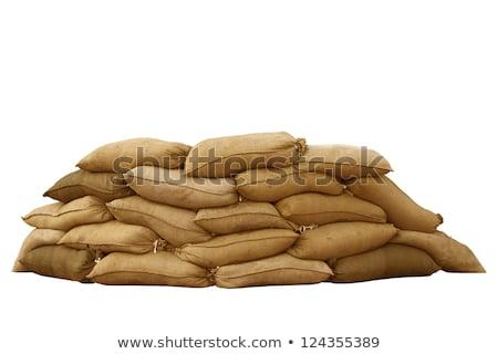 sand bag Stock photo © beemanja