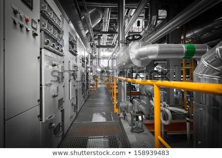 insulators on power plant