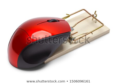 Computer mouse with a mousetrap Stock photo © AndreyKr