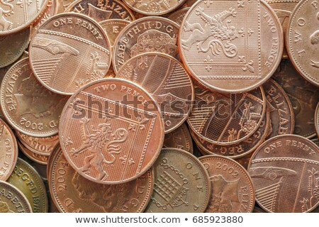 pennies sterling full frame Stock photo © leeavison