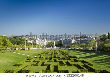 tájkép · Lisszabon · Portugália · épület · város · utca - stock fotó © travelphotography