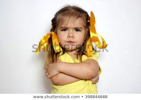angry little girl stock photo © photography33