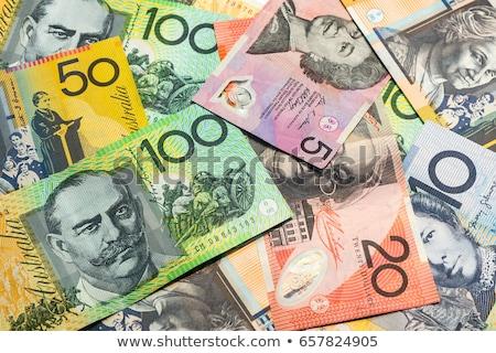 Australiano dólares banco notas dinheiro mulheres Foto stock © Vividrange
