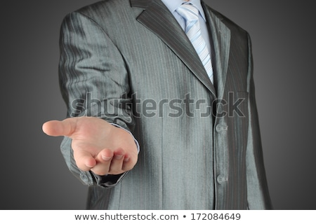 Man with hands stratching Stock photo © AndreyKr