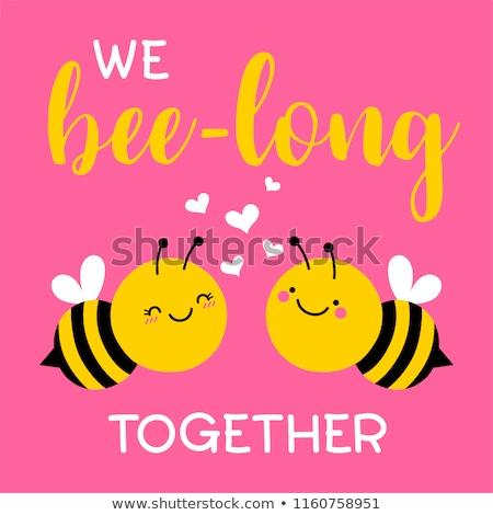 ミツバチ 愛 2 ロマンス 漫画 実例 ストックフォト © soba2stola