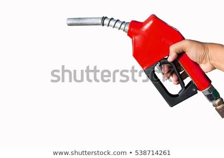 заполнение насос белый назад изолированный энергии Сток-фото © prill